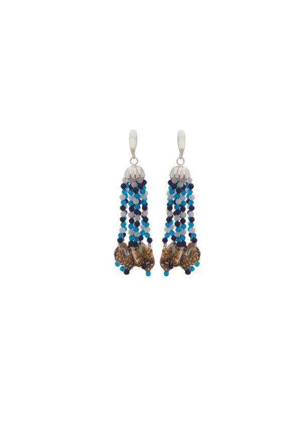 Chandeliers Kali in Blau