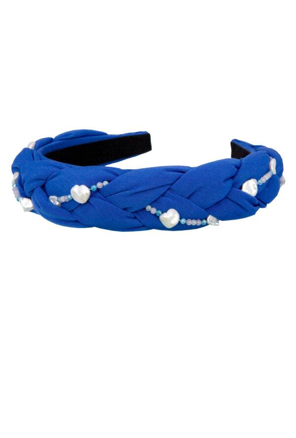 Haarreifen Elly in Strong Blue
