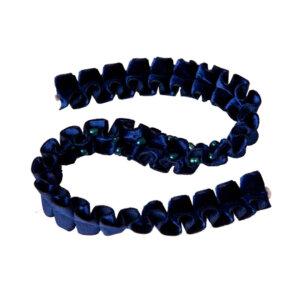 Kropfband Josefa in Blau Schimmernd
