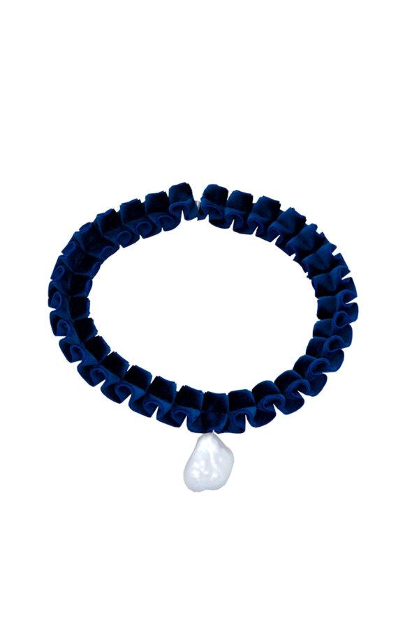 Kropfband Scarlett in Nachtblau