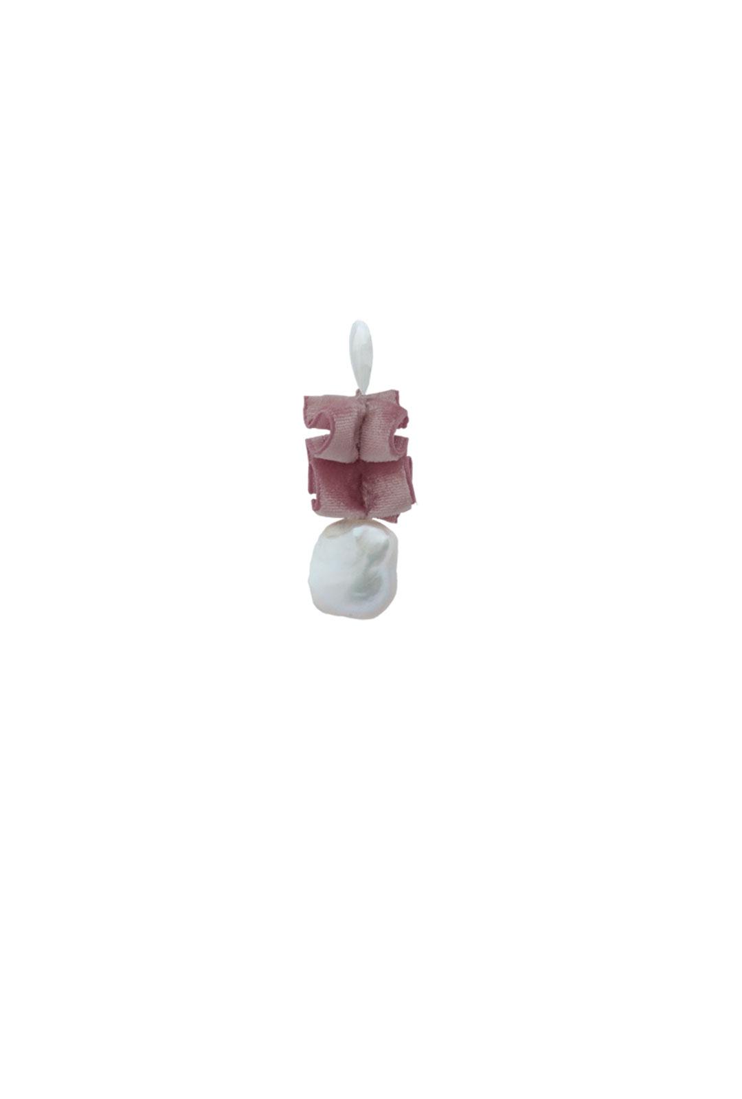 Einzelner Ohrhänger Scarlett in Rosé