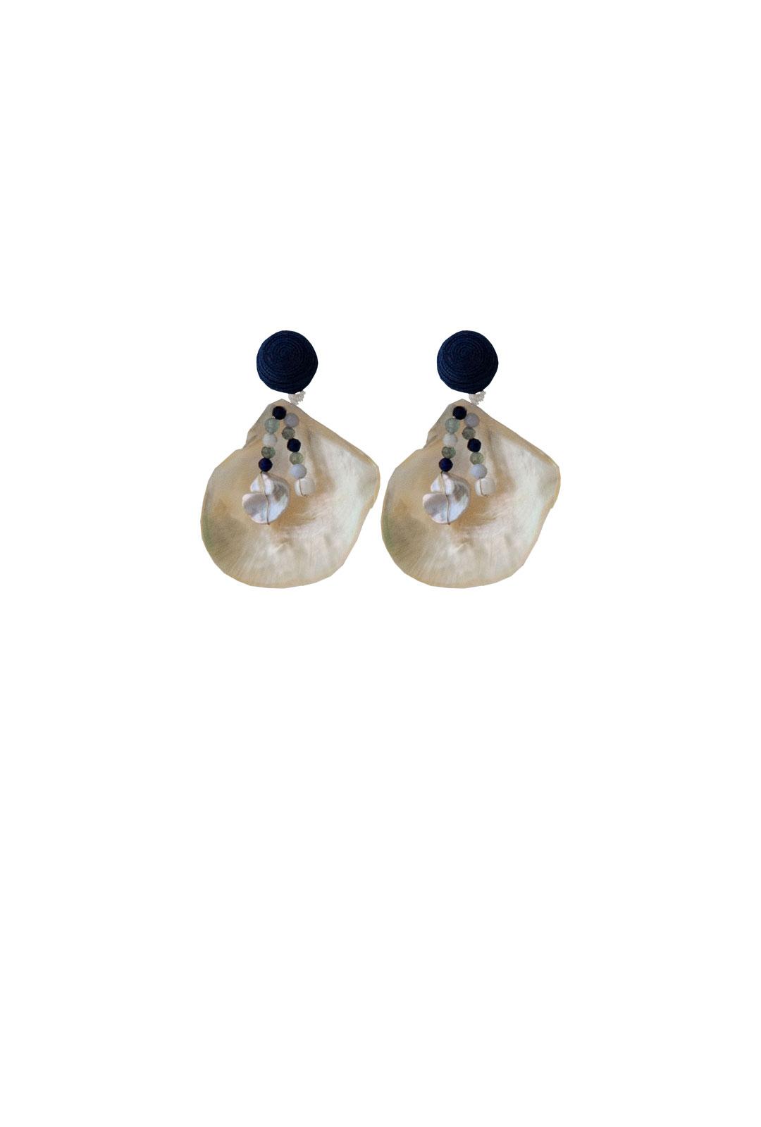 Ohrringe Gioia in Dunkelblau
