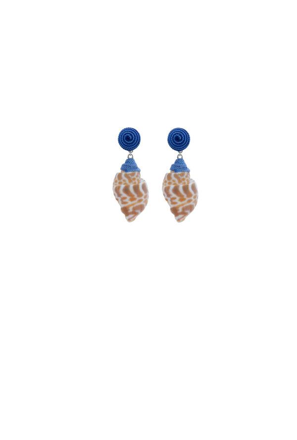 Ohrringe Mia in Blau
