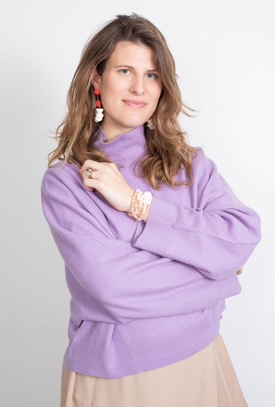 Kreolen Valeria an Model