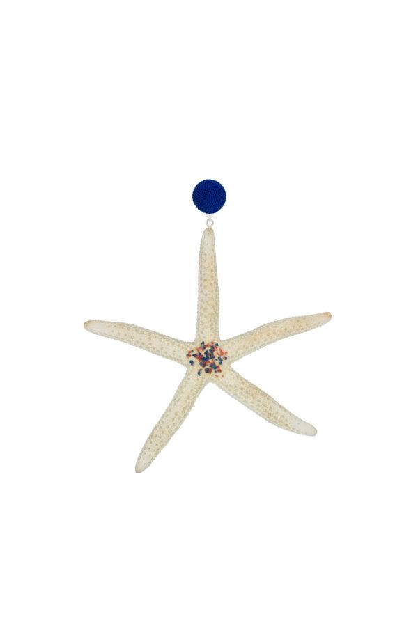 Ohrringe Yara in Blau