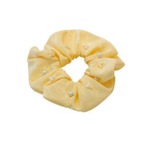 Scrunchie Blair in Pastellgelb